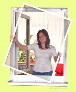 Fliegengitter für Fenster Rahmen